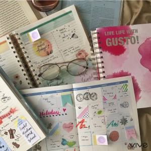 2019 PLANNER VIVE Gusto Grey Strength & Sustainability