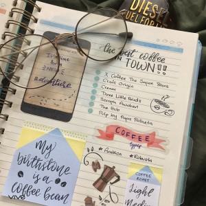 2019 PLANNER VIVE Gusto Green Tranquil Realm