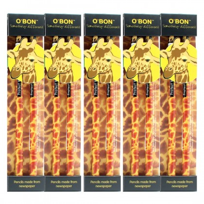 5x pcs set of Greencious 2B OBN Wildlife 2's Giraffe