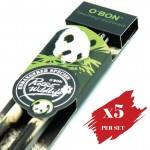 5x pcs set of Greencious 2B OBN ES 2's Panda