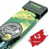 5x pcs set of Greencious 2B OBN ES 2's Chameleon