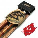 5x pcs set of Greencious 2B OBN Wildlife 2's Snake