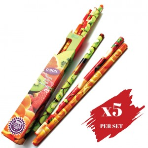 5x boxes set of 2B OBN Fruits OBONanza 9's