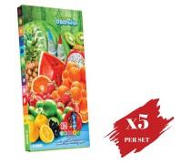 5x boxes set of Colour Pencil OBN Fruits OBONanza