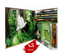 5x Greencious O'BON Endangered Species