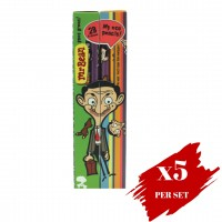 5x Boxes Set Of Colour Pencil Obn Mr Bean