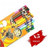 5x boxes set of Colour Pencil OBN Mr Bean