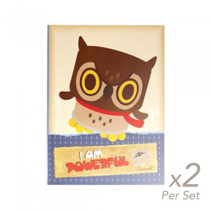 2x set of Spring Hearts A5 Journal Powerful Pow