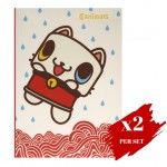 2x set of Spring Hearts A5 Journal Rainy Oz