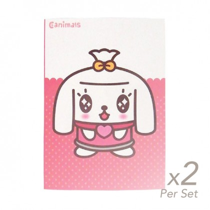 2x set of Spring Hearts A5 Journal Mimi