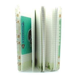 5x set of Spring Hearts Slim Notebook Ato