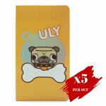 5x set of Spring Hearts Notebook Uly