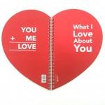 VIVE Love Notebook 1