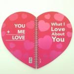 VIVE Love Notebook 4