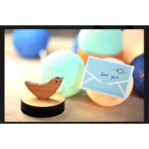Tiny Gift Card Dutch Blue 06