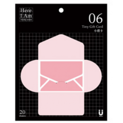Tiny Gift Card Pink 06
