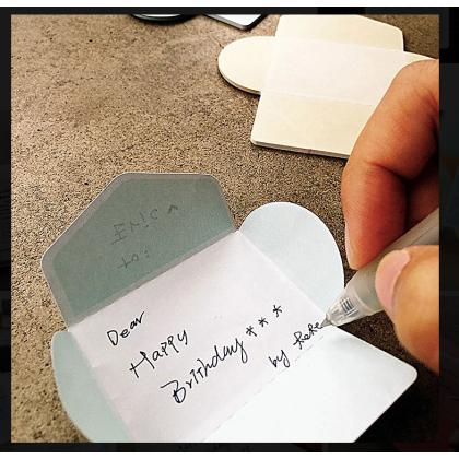 Tiny Gift Card Lake Green 06
