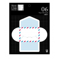 Tiny Gift Card Air Mail 06