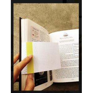 Bookplate Sticky Yellow 07