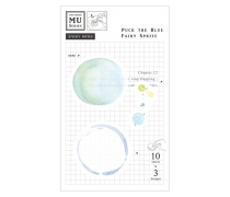 Watercolor Translucent Sticky Note 12 Puck The Blue Fairy Sprite