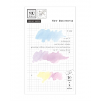 Watercolor Translucent Sticky Note 16 New Beginnings