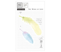 Watercolor Translucent Sticky Note 20 The Wings of Love