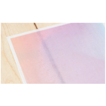 Print On Sticker- Faded Painting 3