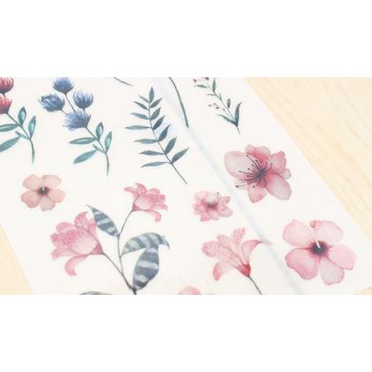 Print On Sticker- Flowers 1