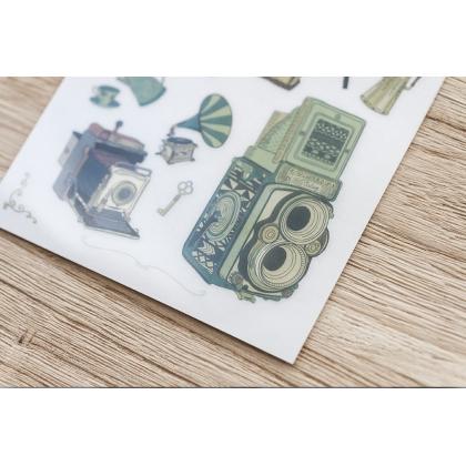 Print On Sticker- Antiques