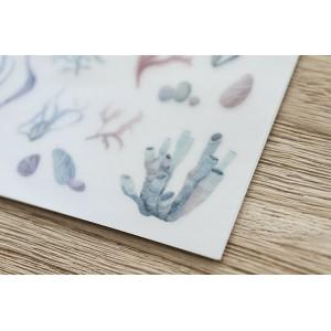 Print On Sticker-  Sea Coral