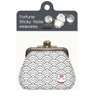 Fortune Sticky Note -Grey
