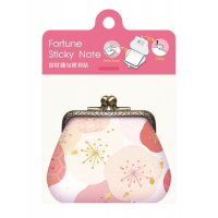 Fortune Sticky Note -Pink