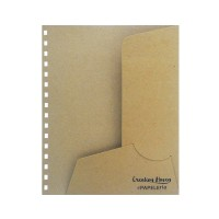 CH Paper Folder Brown