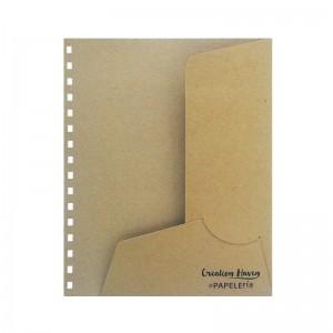 CH Paper Folder Brown