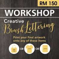June 2019 Workshop - Creative Brush Lettering