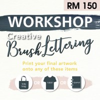 July 2019 Workshop - Creative Brush Lettering