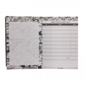 Camo Grey KaChing NotePad