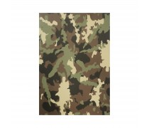 Camo Green Busy Army NotePad