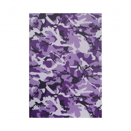 Camo Purple What If NotePad