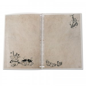 A5 Combo Doodle Book  ( A tribute to national heritage )
