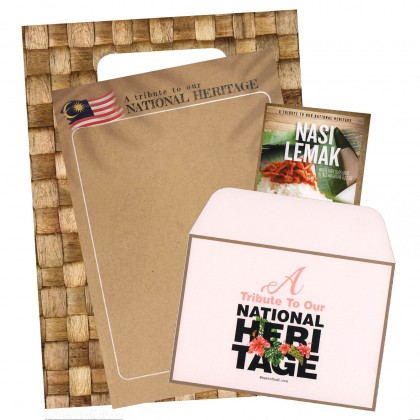 A5 Doodle Book  ( A tribute to national heritage ) Plus A Postcard