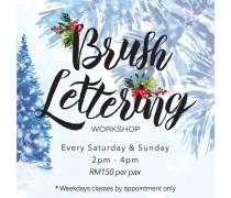 December 2019 Workshop - Creative Brush Lettering