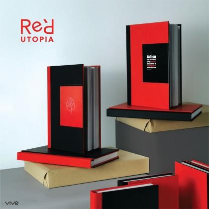 Red Utopia Journal - Ruled