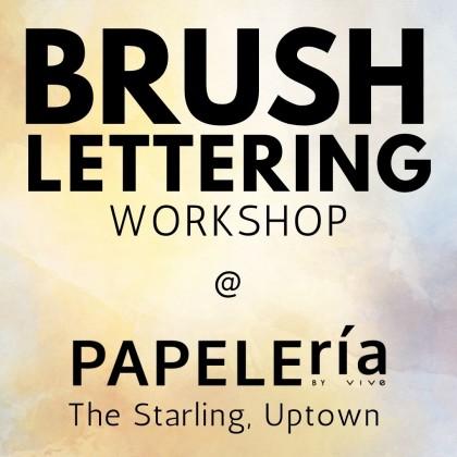 2020 Workshop - Creative Brush Lettering September