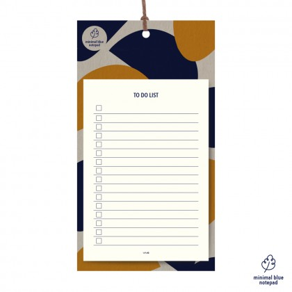 Minimalist Blue To Do List