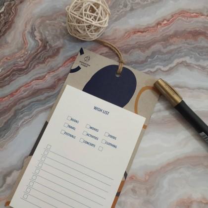 Minimalist Blue Wish List