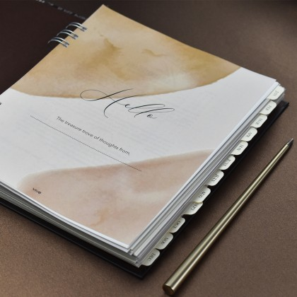 The Celebrated Life Planner - Abstract ( Plain )