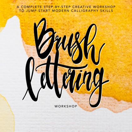 2021 Workshop - Creative Brush Lettering